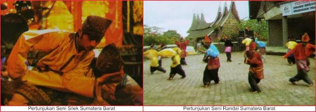 gambar seni pertunjukan sumatera barat
