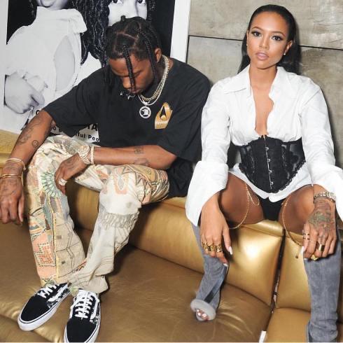 Karrueche is now dating Rihanna's ex, Travis Scott?