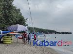 Obyek Wisata Pantai Pasir Putih Mulai Ramai Dikunjungi Wisatawan Domestik