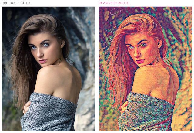تطبيق اي بورتريه - aiportraits يحول صور السيلفي إلى لوحات فنية بإستخدام تقنية الذكاء الإصطناعي.