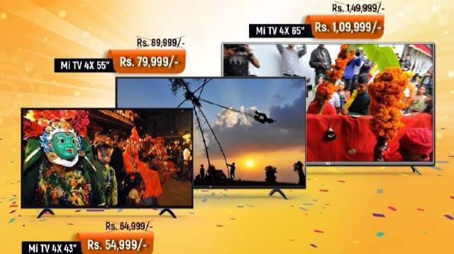 MI TV Dashain Discount Offers