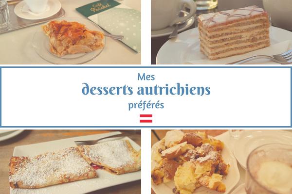 desserts autriche