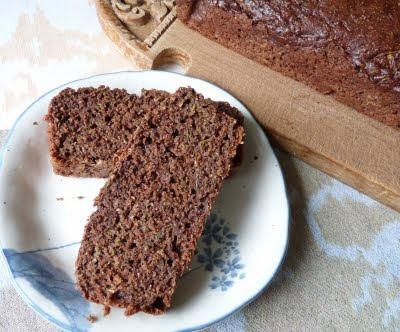 Cocoa Zucchini Loaf