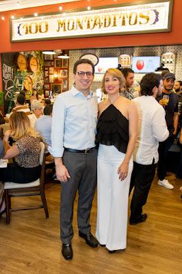 Héctor Morillo y Lauren Pou