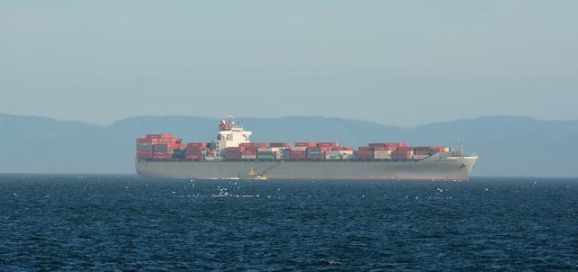 Victoria Island cargo ship