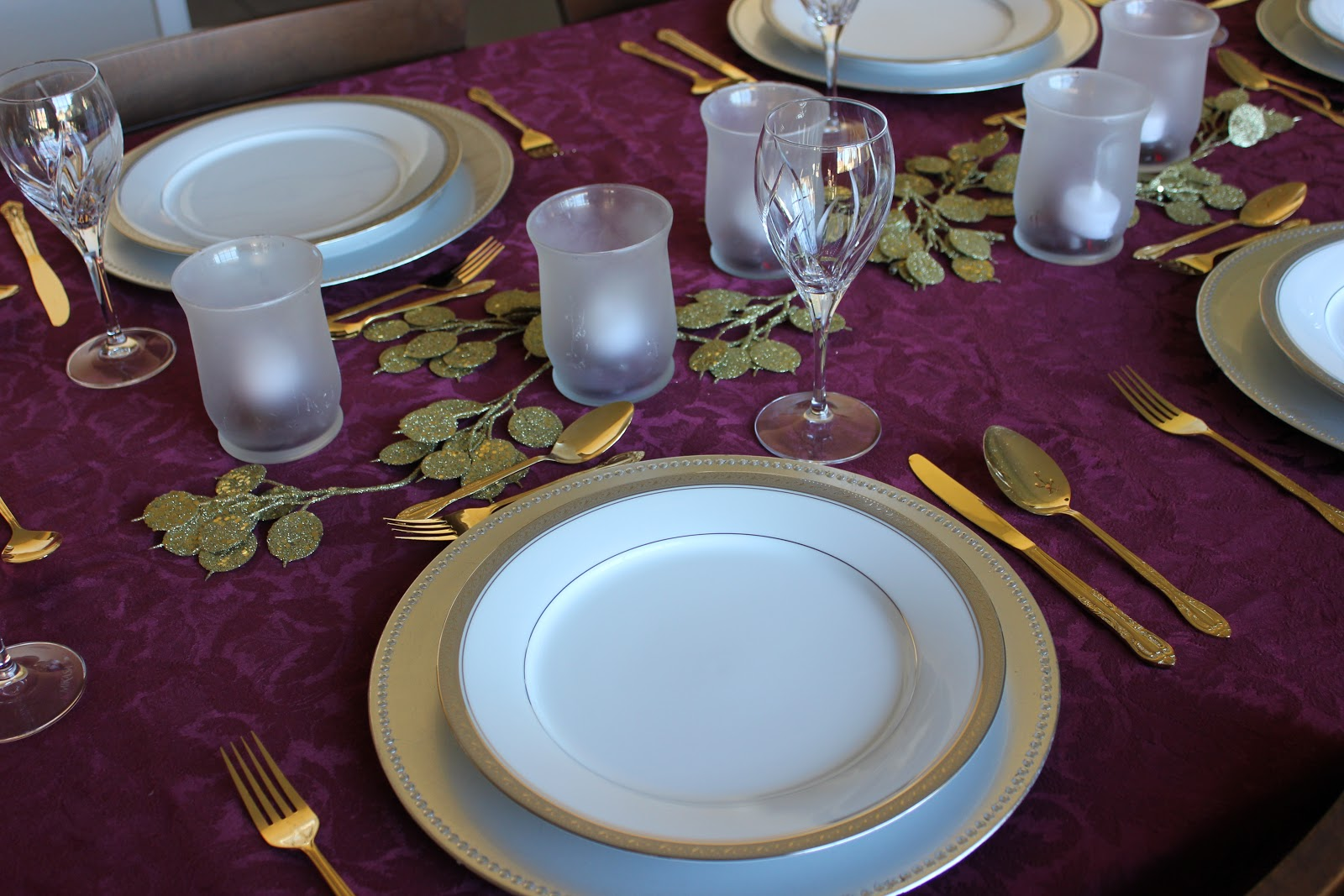 Clearwater Cottage Thanksgiving Table Setting Idea 1