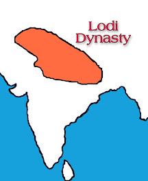 Lodi dynasty map