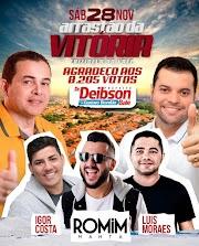É neste sábado (28) a festa da vitória de Deibson Balé e Gustavo Brandão em Trizidela do Vale.