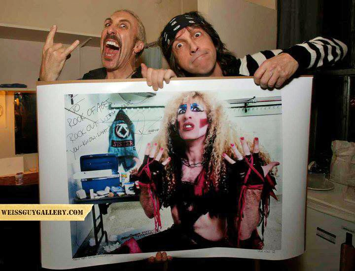 Mark Weiss and Dee Snider