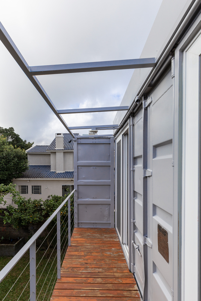 Casa Conteiner RD - 350 sqm Two Story Shipping Container Home, Brazil 13