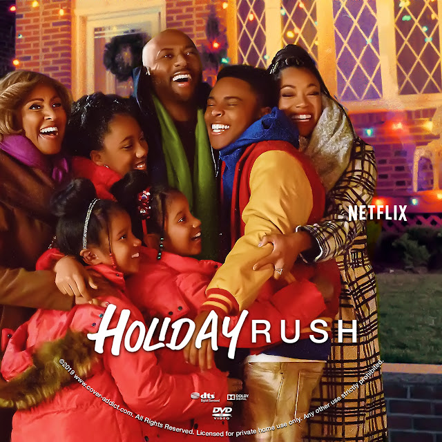 Holiday Rush DVD Label