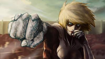 6 Fakta Unik Female Titan, Si Titan Wanita Petarung