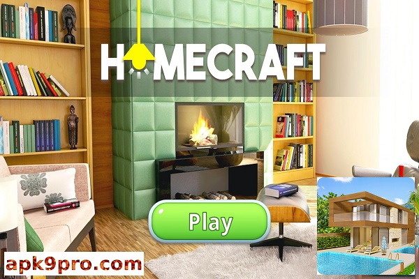 Homecraft – Home Design Game v1.8.1 Apk + Mod (File size 81 MB) + Data for android