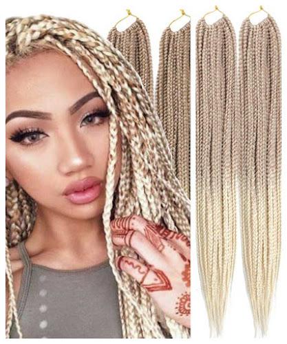 Thin 3X Box Braid Crochet Hair