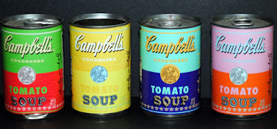 2006 version of Warhol-Inspired Campbell's Soup Cans
