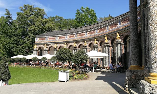 Eremitage Bayreuth - Café in der Orangerie