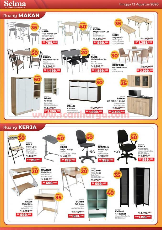 Katalog Promo SELMA Furniture Terbaru Juni Juli Agustus 2020 3