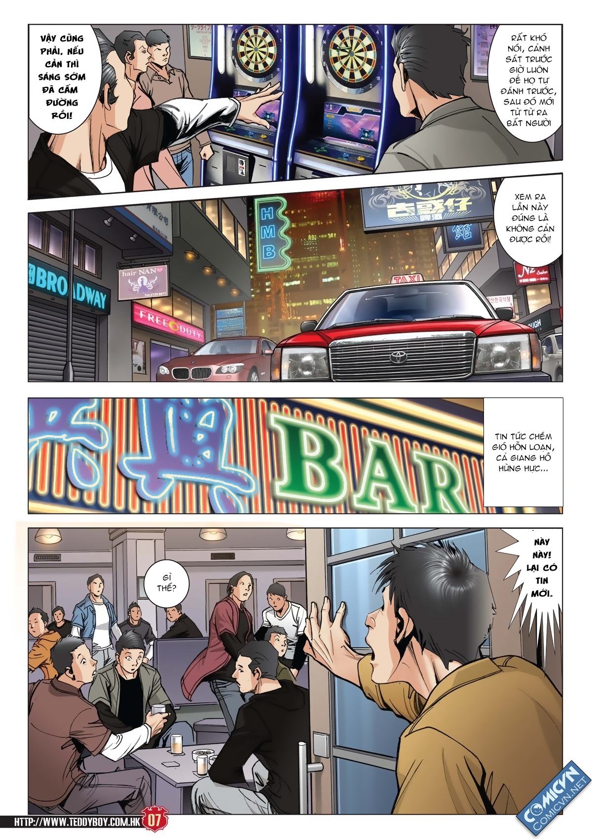 Người Trong Giang Hồ chapter 2011: hàn tân bỏ trốn trang 6
