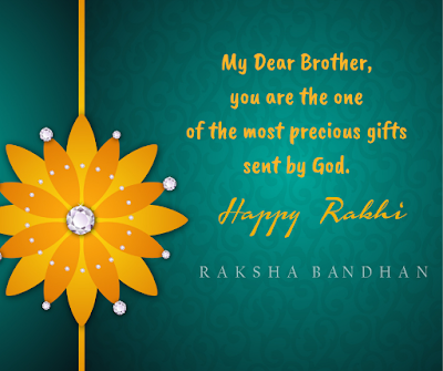 raksha bandhan messages for brother in english