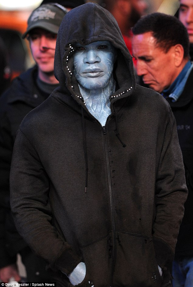 The Amazing Spider-Man 2 Jamie Foxx as Electro