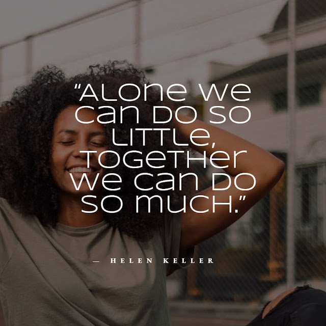 Quotes about togetherness in a team