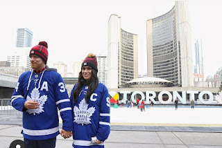 Go Leafs Go Duke and Duchess of Sussex newest Leaf fans