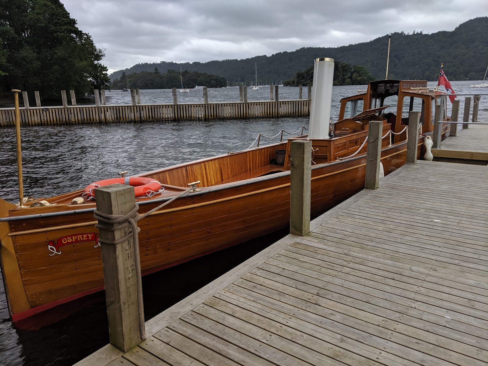 13 Reasons to Visit Windermere Jetty with Kids  - osprey heritage boat rides