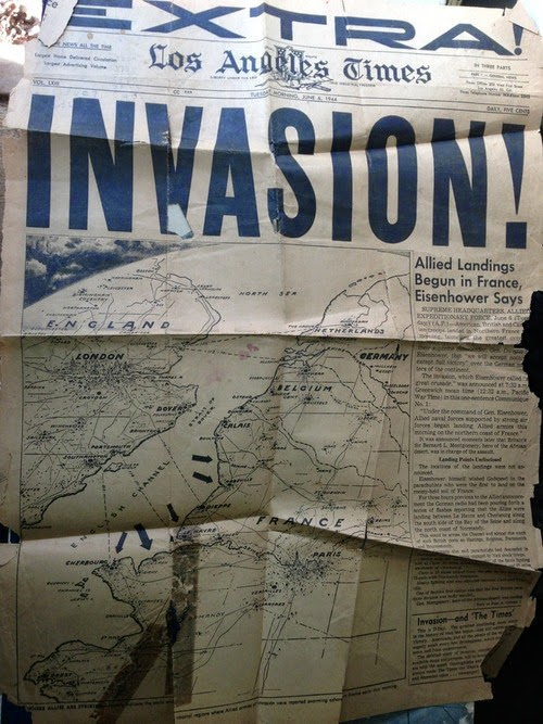 La Libération vue de Californie.