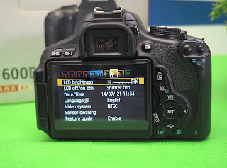 Jual Canon Eos 600D Second