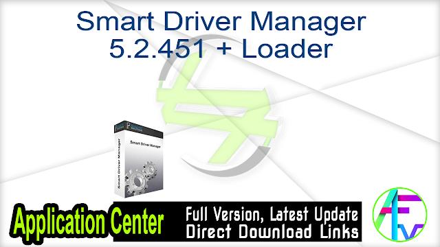 Smart Driver Manager 5.2.451 + Loader