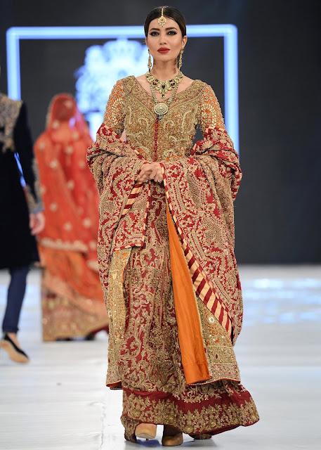 HSY lambent red bridal dress