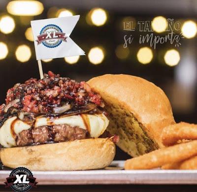 Hamburguesa de XL Colombia Gourmet en Bogotá