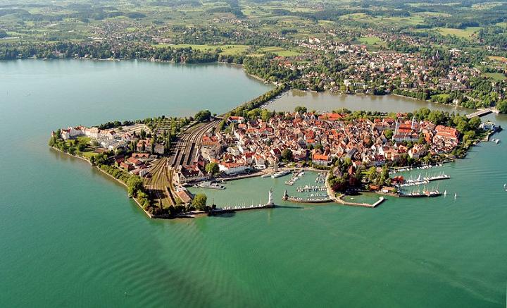 Lindau, Kota Terapung dengan Sejarah Romawi Kuno