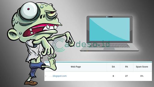 Cara Mencari Blog Zombie Gratis