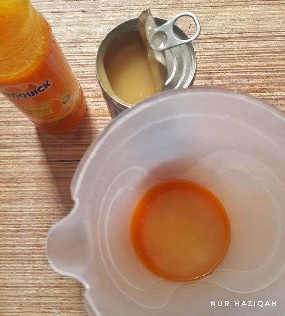resepi air oren sunquick sedap