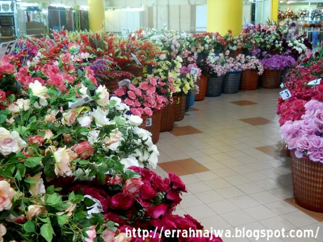 Errah Najwa Wordless Wednesday Bunga Dan Barangan Hiasan