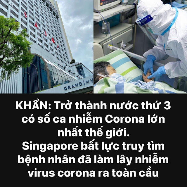 8 ca nhiễm virus Corona trong 1 ngày - Singapore truy tìm bệnh nhân đã làm lây nhiễm virus Corona