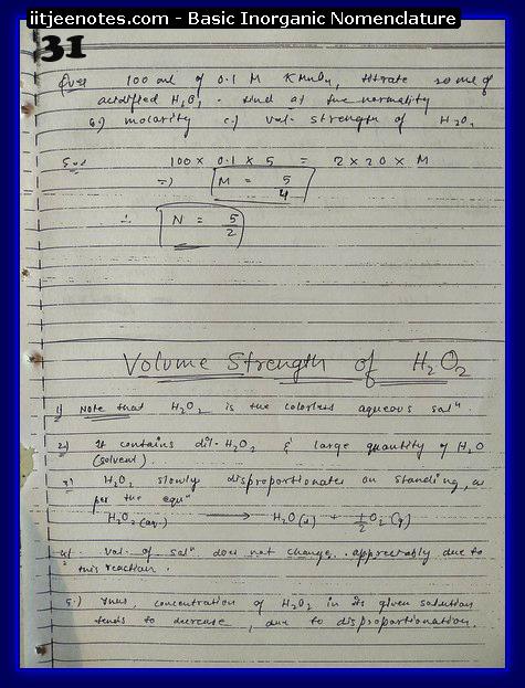Inorganic Nomenclature chemistry3