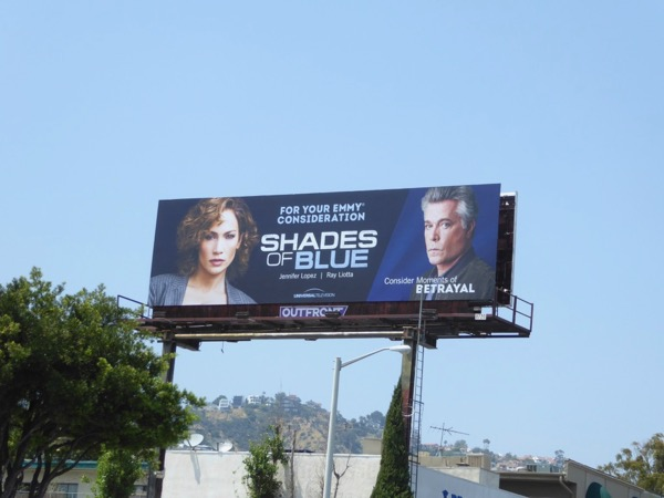 Shades of Blue 2017 Emmy FYC billboard