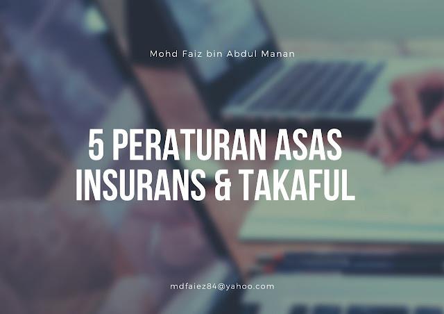 5 Peraturan Asas Insurans @ Takaful