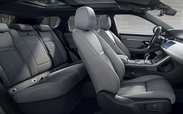 Range Rover Evoque có nhiều tùy chọn chất liệu vải thân thiện với môi trường