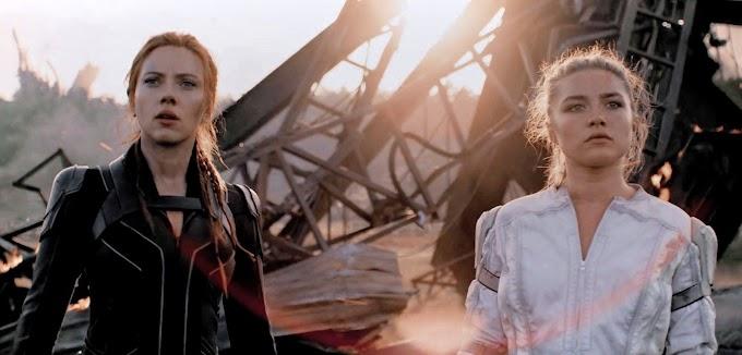 マーベルの戦うヒロイン映画「ブラック・ウィドウ」のスカーレット・ジョハンソンとフローレンス・ピューのダブル・ブラック・ウィドウからの祝🎊国際女性デー💃のメッセージ・ビデオ‼️