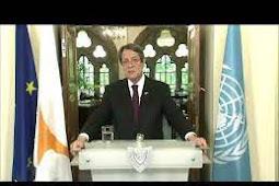 Inilah Pidato Presiden Republik Siprus, Nicos Anastasiades Saat Berbicara di Debat Umum PBB ke 75