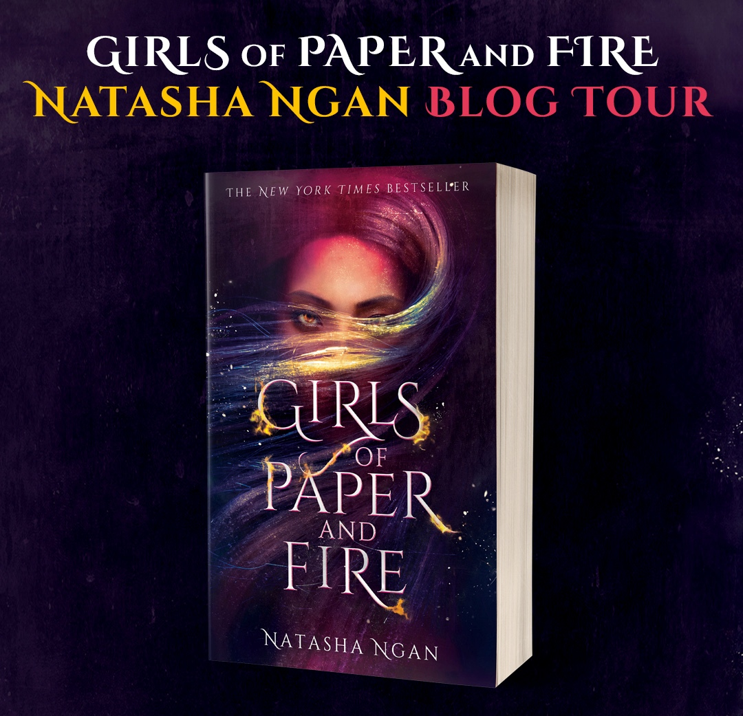 Girls of Paper and Fire by Natasha Ngan Blog Tour Graphic