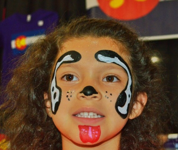 Easy Teddy Bear Face Paint