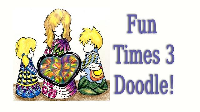 Mystic Topaz Doodle Kids