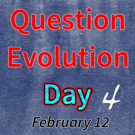 evolution, logic, creation, question evolution day, the question evolution project, atheist, Bible, creation