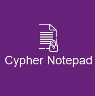 برنامج, لإنشاء, الملفات, النصية, وتشفير, المستندات, وتأمين, بياناتك, في, مفكرة, مشفرة, Cypher ,Notepad