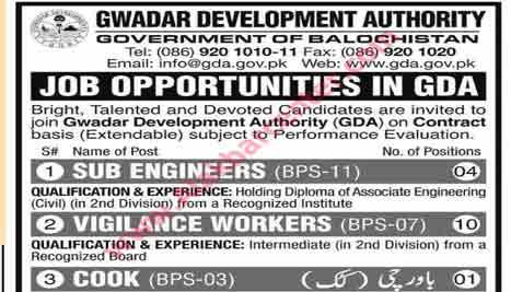 Sub Engineer Job In GDA Last Date 5 November 2019