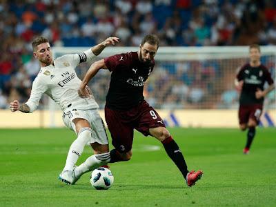 ريال مدريد ضد ميلان وديا أغسطس المقبل استعدادا للموسم الجديد